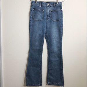 BDG Patch Pocket Flare Jean